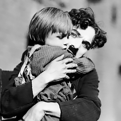Photo The Kid de Charlie CHaplin